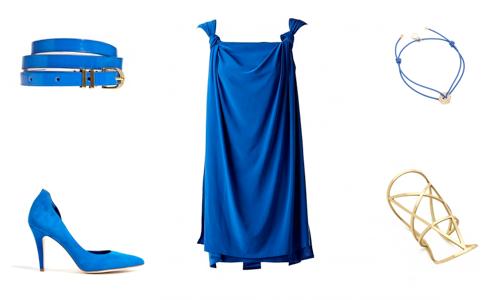 Blå Kjole Venti Uno