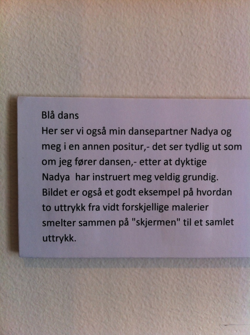 Blådans Vebjørn Sand