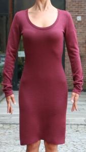 Venti Uno wool knit dress
